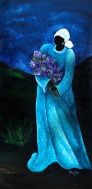 La Dame en Bleu, 2009 by Patricia Brintle