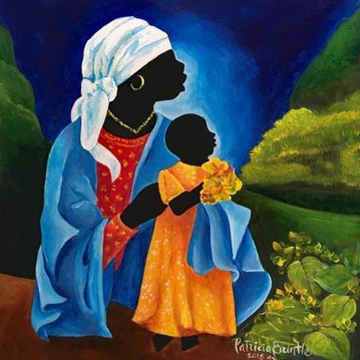 Madonna and child - Flourish by Patricia Brintle