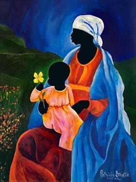 Madonna and child of the dogwood, 2015 by Patricia Brintle
