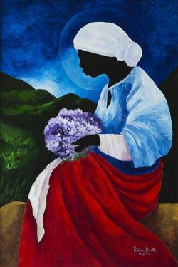 Madonna of the Lilacs by Patricia Brintle