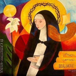 St. Catherine of Siena, 2007 by Patricia Brintle