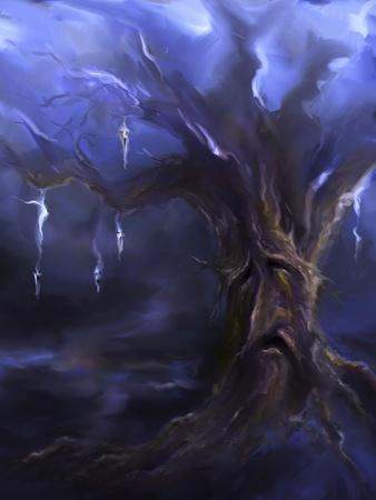 Sad Face Tree