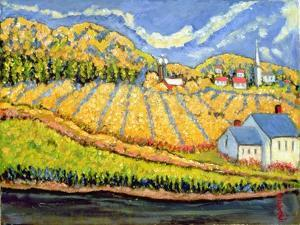 Harvest, St. Germain, Quebec by Patricia Eyre