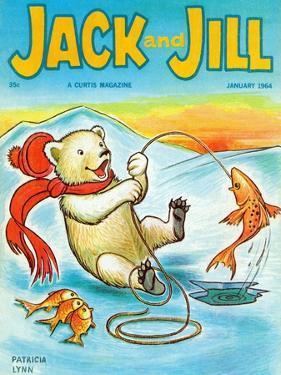 A Real Fish Story - Jack and Jill, January 1964 by Patricia Lynn