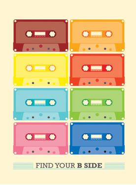 Cassette Vintage by Patricia Pino