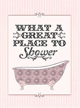Great Place to Shower by Patricia Pino