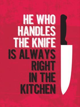 Handle the Knife by Patricia Pino