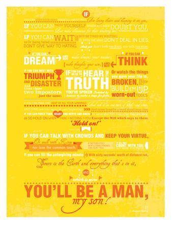 If (Rudyard Kipling) by Patricia Pino