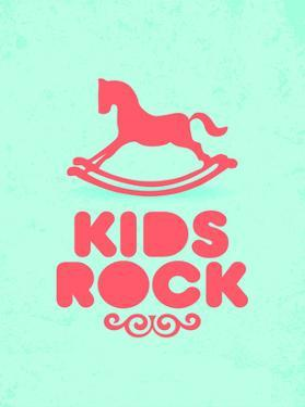 Kids Rock (blue) by Patricia Pino