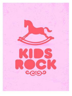 Kids Rock (pink) by Patricia Pino