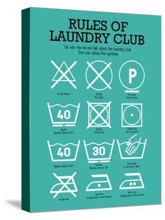 Laundry Club Teal by Patricia Pino