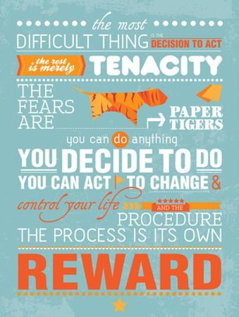 The Process Is Its Own Reward (Amelia Earhart) by Patricia Pino