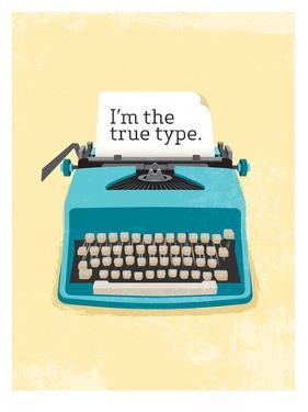 Typewriter by Patricia Pino
