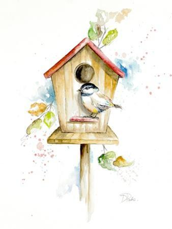 Bird House II by Patricia Pinto