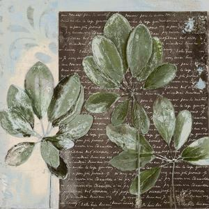 Botanica on Blue I by Patricia Pinto