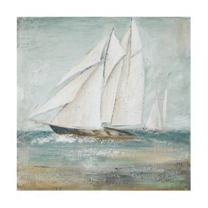 Cape Cod Sailboat I by Patricia Pinto