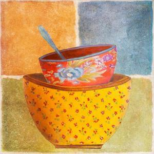 Collage Bowls II by Patricia Pinto