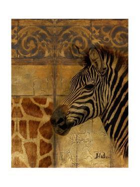 Elegant Safari I (Zebra) by Patricia Pinto
