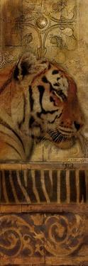 Elegant Safari Panel II (Tiger) by Patricia Pinto
