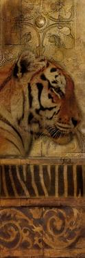 Elegant Safari Panel II (Tiger) by Patricia Pinto