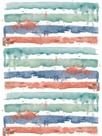 Fashion Watercolor Stripes by Patricia Pinto