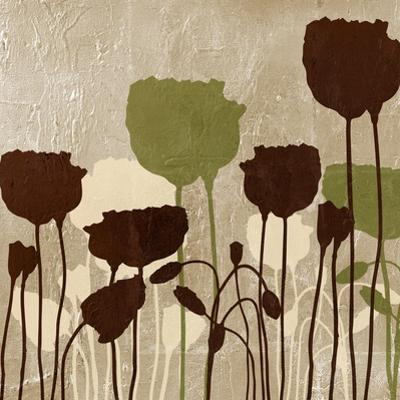 Floral Simplicity I (Green) by Patricia Pinto