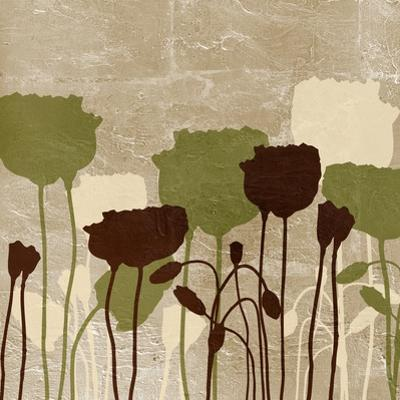 Floral Simplicity II (Green) by Patricia Pinto