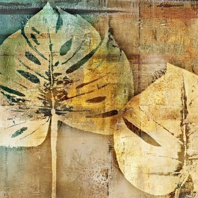 Gold Leaves II by Patricia Pinto