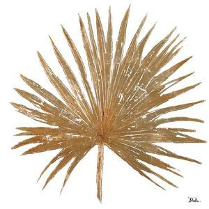 Golden Leaf Palm I by Patricia Pinto