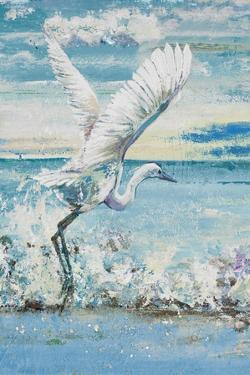 Great Blue Egret I by Patricia Pinto