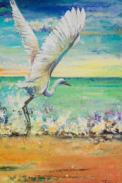 Great Egret I by Patricia Pinto