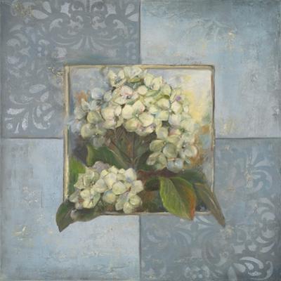 Hydrangeas on Blue II by Patricia Pinto