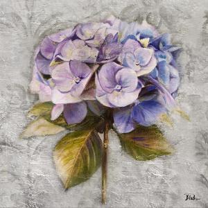 Lavender Flourish Square I by Patricia Pinto