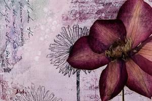 Pressed Flowers I by Patricia Pinto