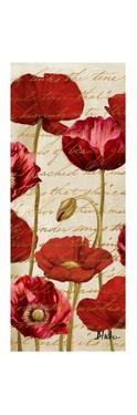 Red Poppies Panel II by Patricia Pinto