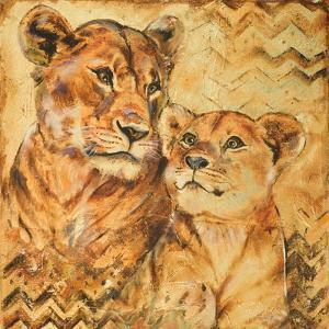 Safari Mother and Son II by Patricia Pinto