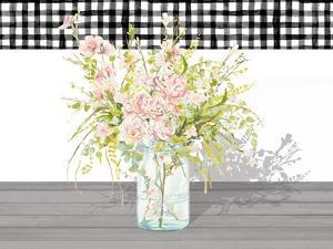 Spring Bouquet in a Glass Jar by Patricia Pinto