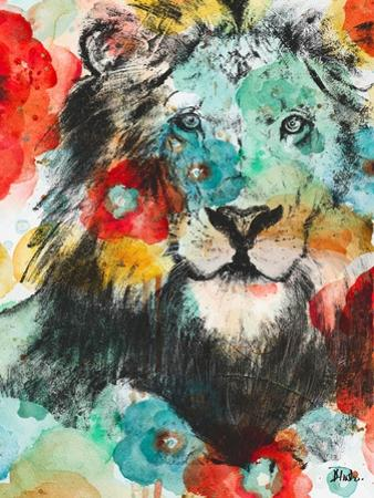 Vibrant Lion by Patricia Pinto