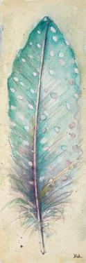 Watercolor Feather I by Patricia Pinto