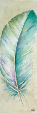 Watercolor Feather II by Patricia Pinto