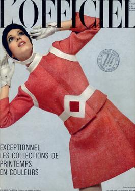 L'Officiel, March 1969 - Pierre Cardin, Tailleur en Tweed de Leleu by Patrick Bertrand