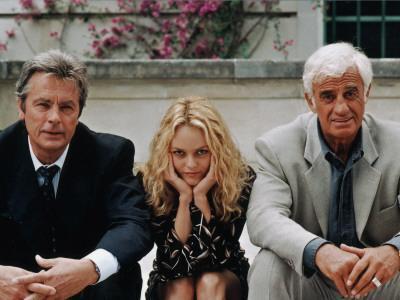 Jean-Paul Belmondo, Alain Delon, Vanessa Paradis: Une chance sur deux, 1998