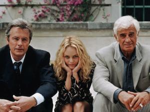 Jean-Paul Belmondo, Alain Delon, Vanessa Paradis: Une chance sur deux, 1998 by Patrick Camboulive
