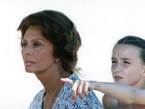 Sophia Loren and Salomé Stévenin: Soleil, 1997 by Patrick Camboulive