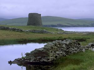 Broch of Mousa, 1st Century BC to 3rd Century AD, Island of Mousa, Shetland Islands, Scotland by Patrick Dieudonne