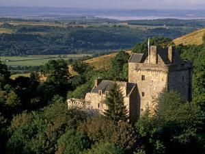 Castle Campbell, 15th Century, at Head of Dollar Glen, Dollar, Clackmannanshire, Scotland, UK by Patrick Dieudonne