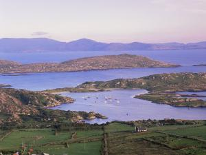 Derrynane Bay at Sunset, Ring of Kerry, County Kerry, Munster, Republic of Ireland, Europe by Patrick Dieudonne