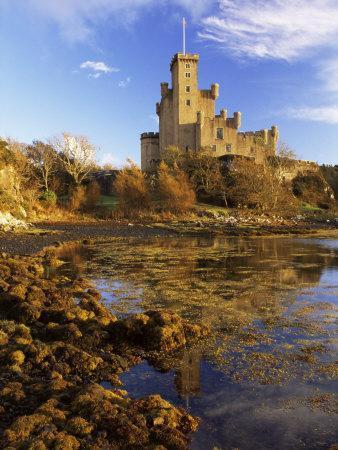 Dunvegan Castle of the Macleods of Skye, Isle of Skye, Highlands, Scotland, UK