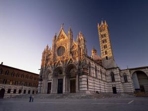 Duomo, Dating from the 12th to 14th Centuries, Siena, Tuscany, Italy, Europe by Patrick Dieudonne