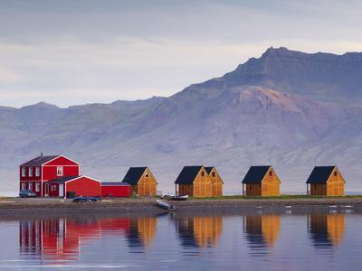 Eskifjordur Village, Eskifjordur Fjord, East Fjords Region (Austurland), Iceland, Polar Regions